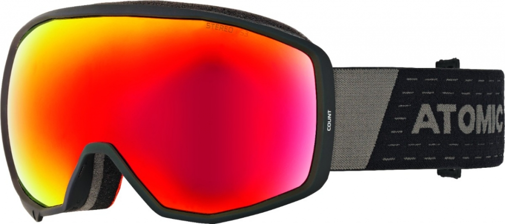 ATOMIC COUNT STEREO black/red 18/19