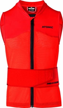 ATOMIC LIVE SHIELD VEST AMID M red